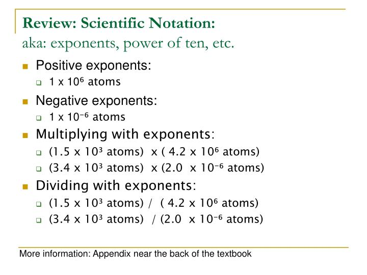 Exponential Atomic Mass: Moles : A Counting Unit In Chemistry What Is A Mole