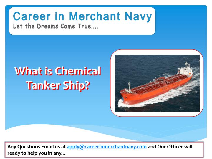 what is chemical tanker ship n.