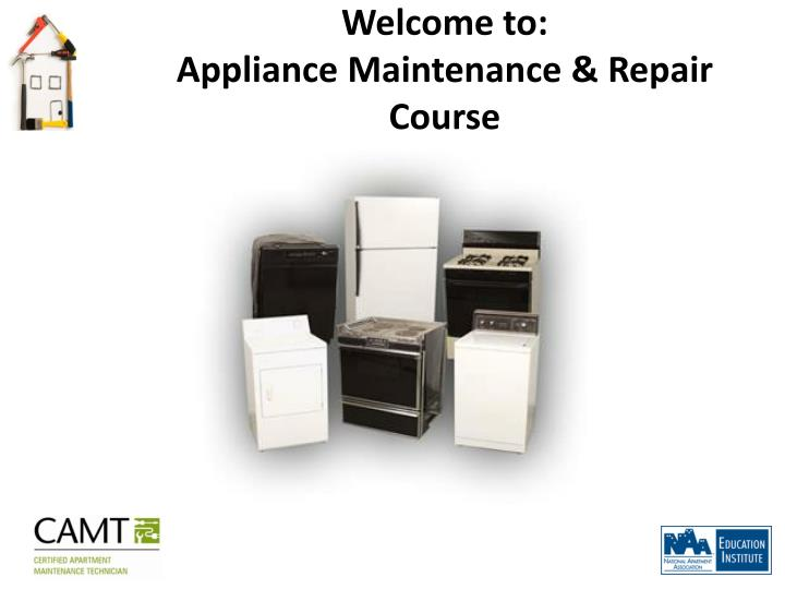 welcome to appliance maintenance repair course n.