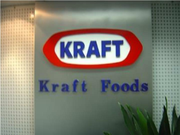 kraft foods presentation Kraft foods last week announced a global reorganization that streamlines us and international operations and puts former co-ceo betsy holden in a newly.