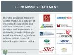 oerc mission statement
