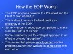 how the eop works