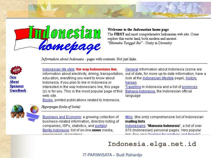 Indonesia.elga.net.id