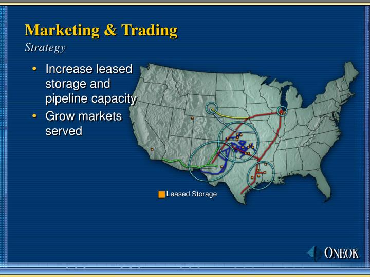 Marketing & Trading