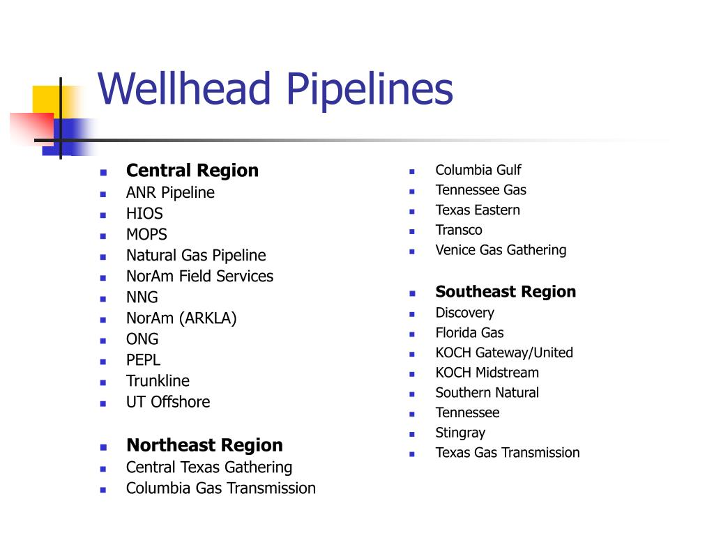PPT - Enron North America Gas Logistics PowerPoint