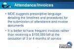 attendance invoices1