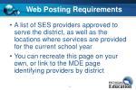 web posting requirements4