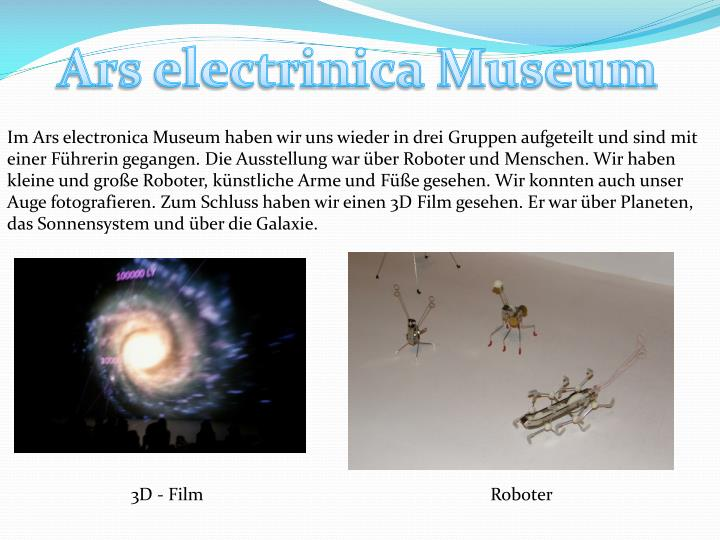 Ars electrinica Museum