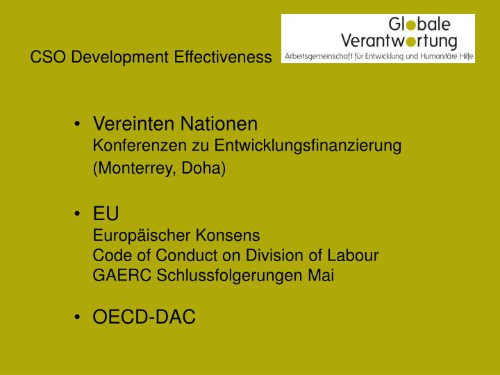 Cso development effectiveness2