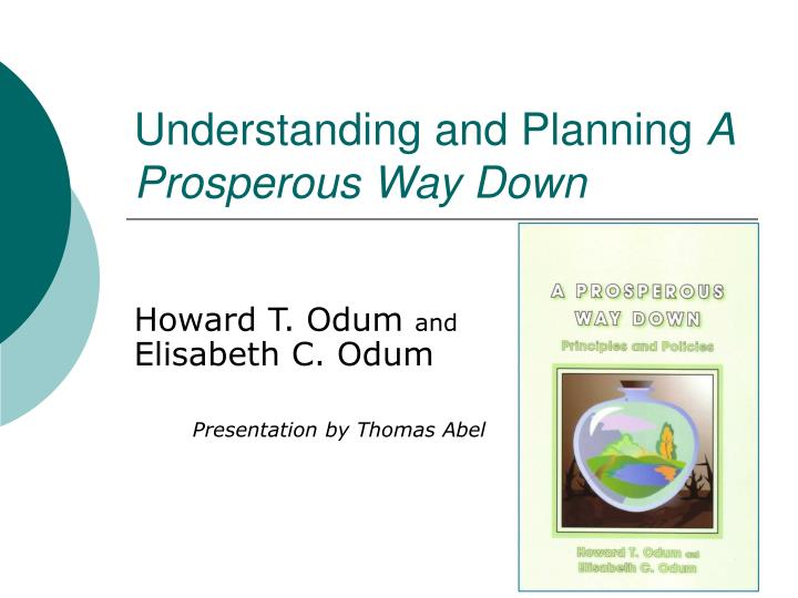 understanding and planning a prosperous way down n.