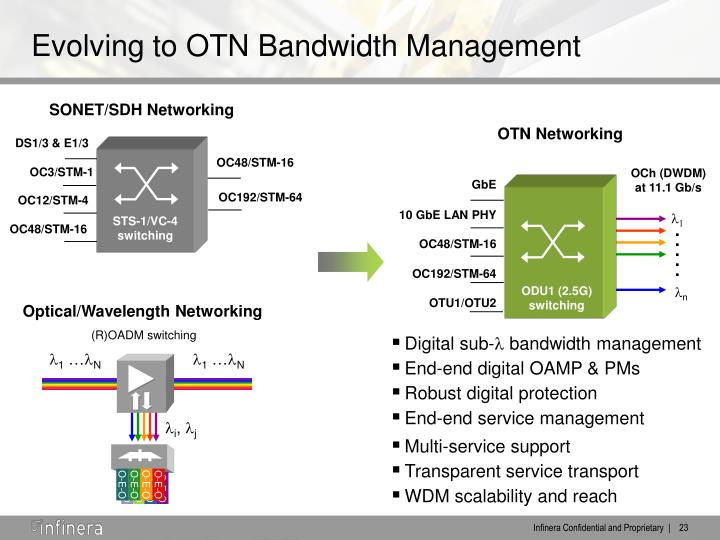 SONET/SDH Networking