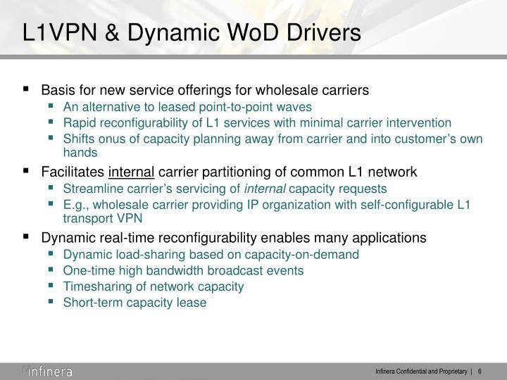 L1VPN & Dynamic WoD Drivers
