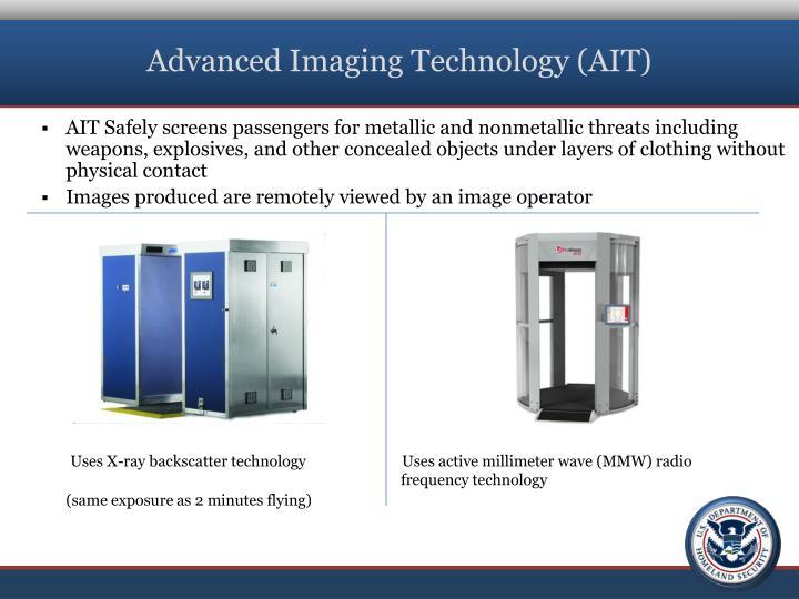 Advanced Imaging Technology (AIT)