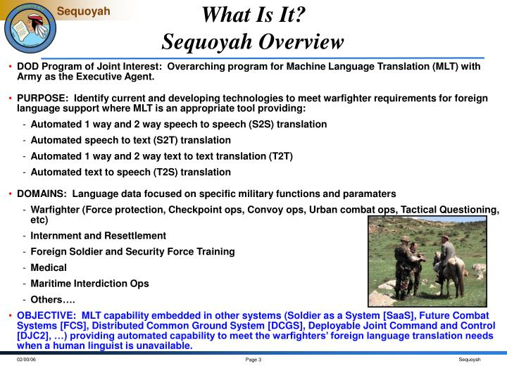 What is it sequoyah overview