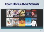cover stories about steroids