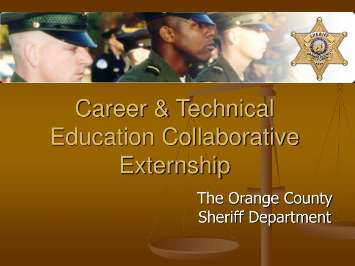 Career technical education collaborative externship