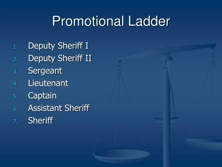 Promotional Ladder