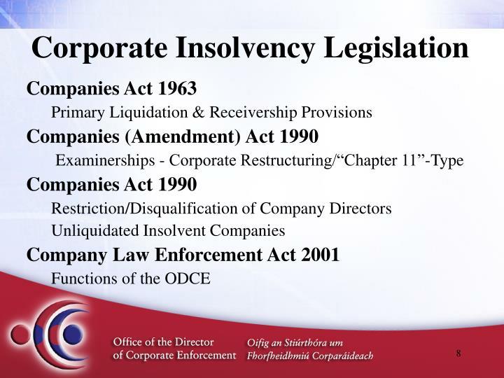 examinership and receivership