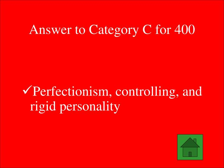 Answer to Category C for 400
