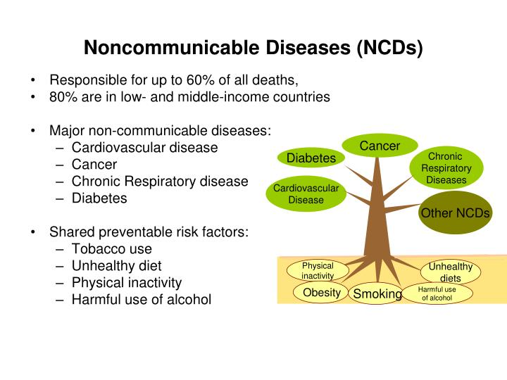 Noncommunicable Diseases (NCDs)