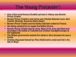 the young pretender