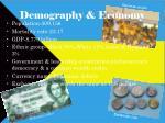 demography economy