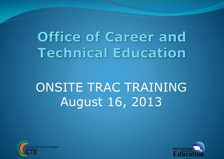 office of career and technical education n.