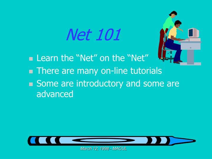 Net 101
