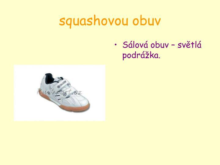 squashovou obuv