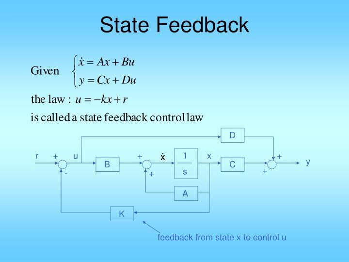 State Feedback
