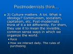 postmodernists think1