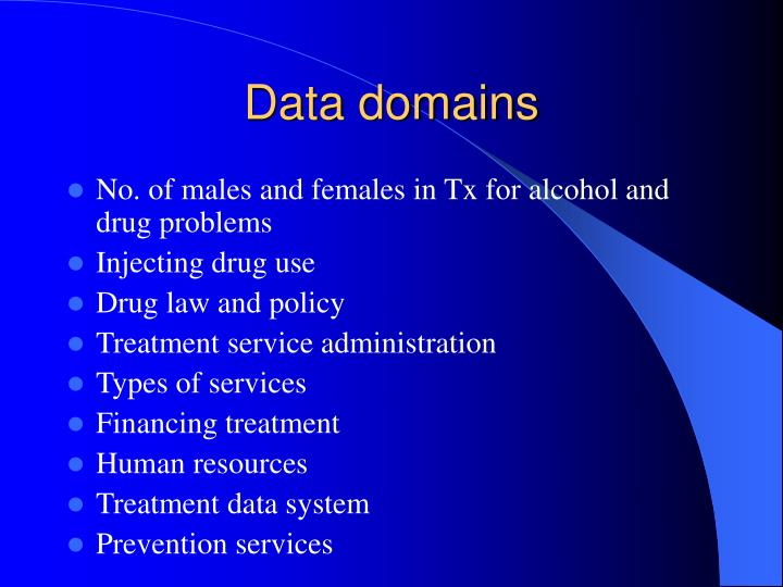 Data domains