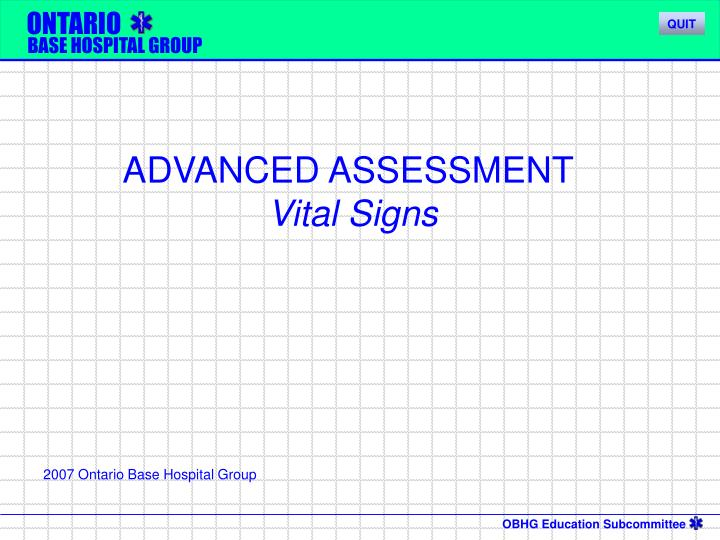 ppt - advanced assessment vital signs powerpoint presentation - id, Powerpoint templates