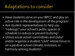 adaptations to consider2