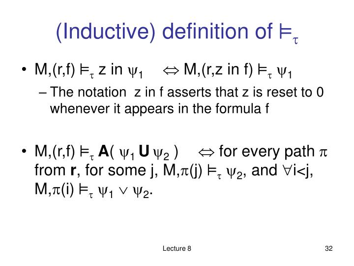 (Inductive) definition of