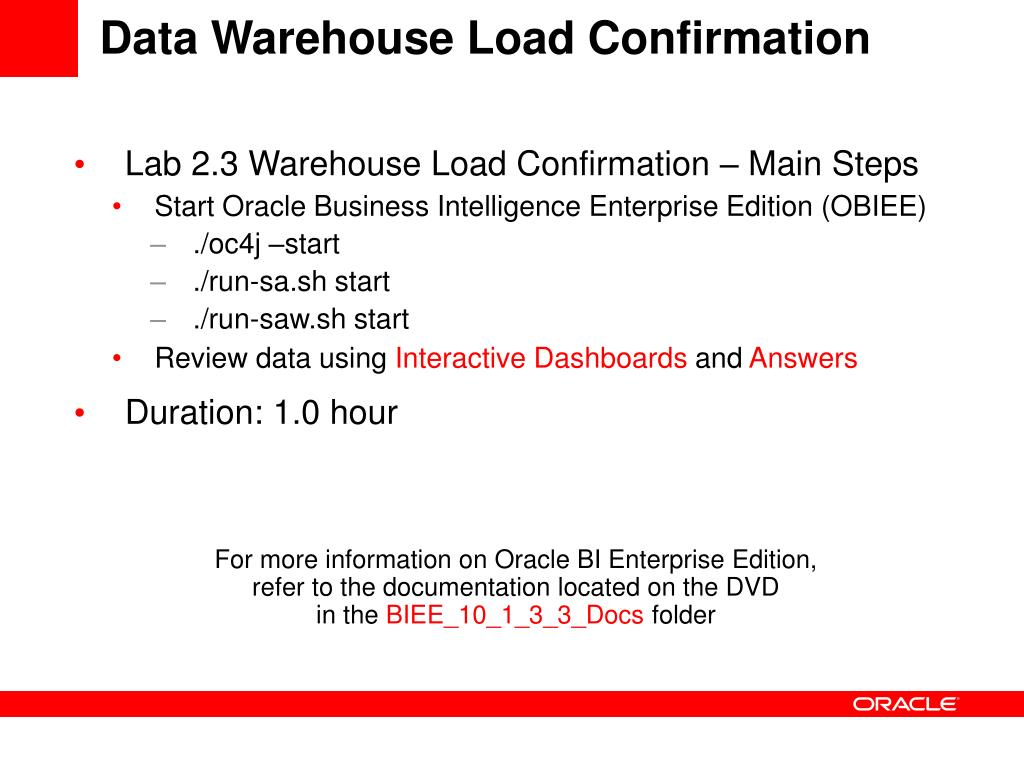 PPT - Oracle Business Intelligence Applications Technical