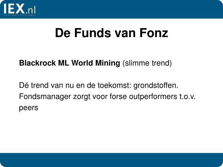 De Funds van Fonz