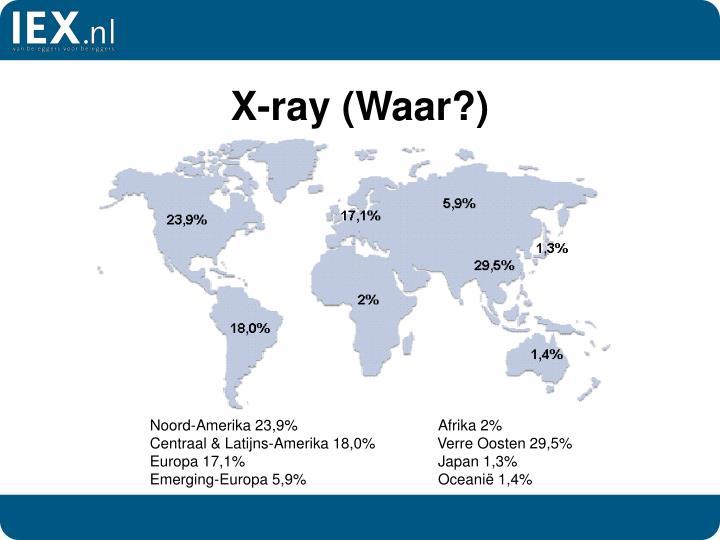 X-ray (Waar?)