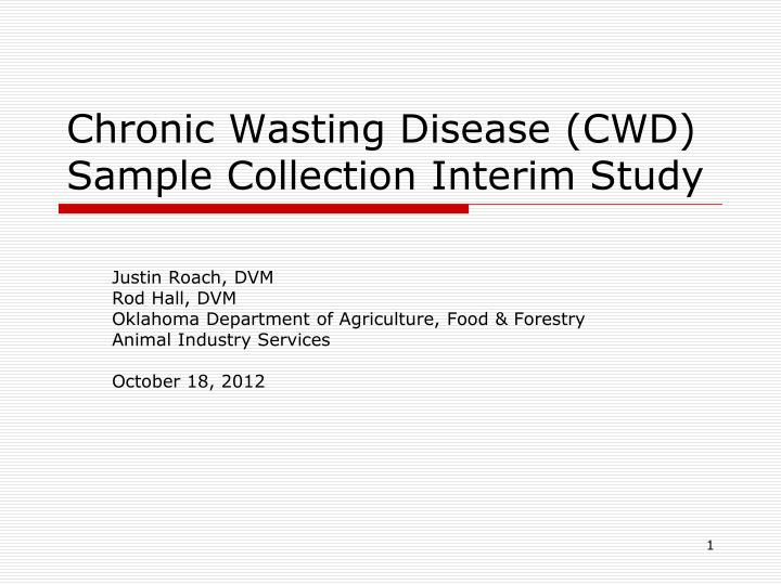 chronic wasting disease cwd essay Open document below is an essay on chronic wasting disease from anti essays, your source for research papers, essays, and term paper examples.