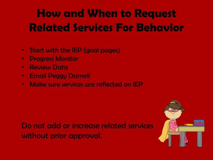 How and When to Request