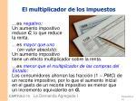 el multiplicador de los impuestos1