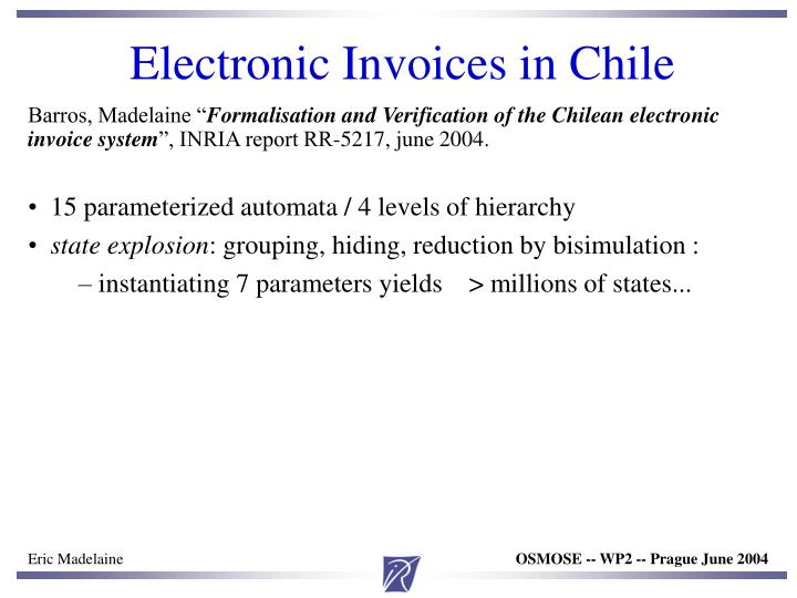 Electronic Invoices in Chile