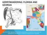 gerrymandering florida and georgia