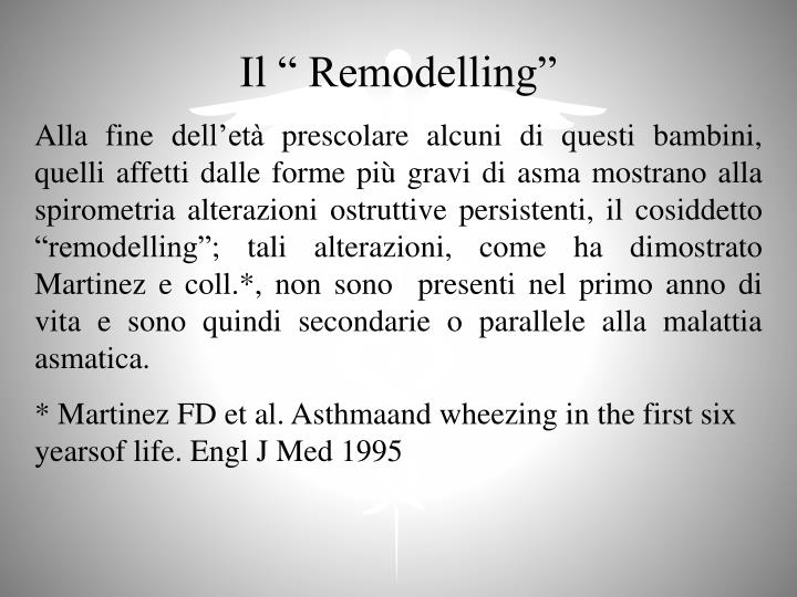 "Il "" Remodelling"""