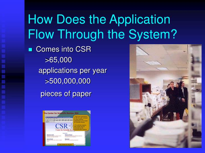 How Does the Application Flow Through the System?