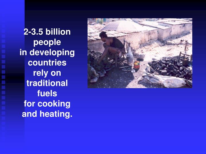 2-3.5 billion people