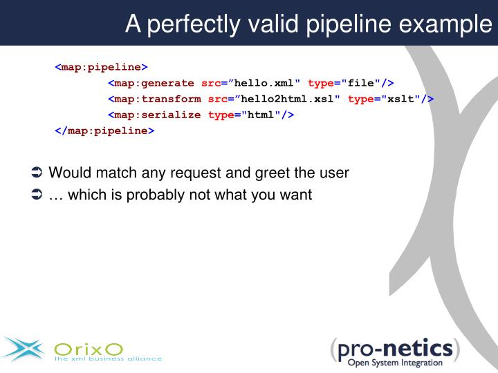 A perfectly valid pipeline example
