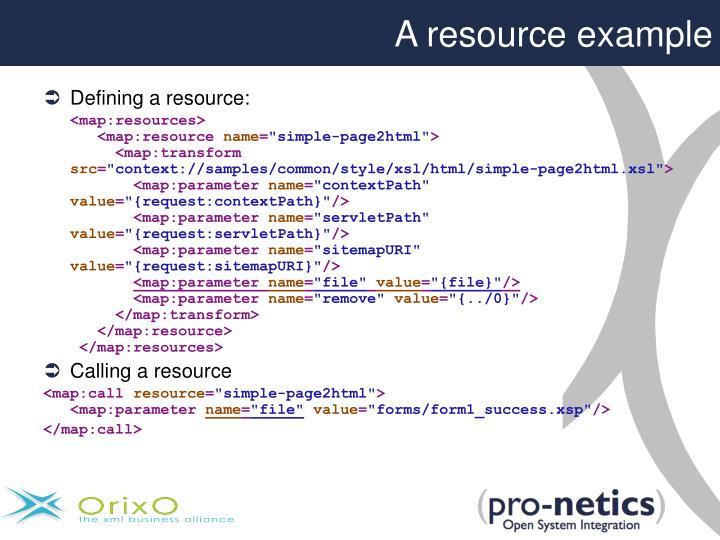 A resource example