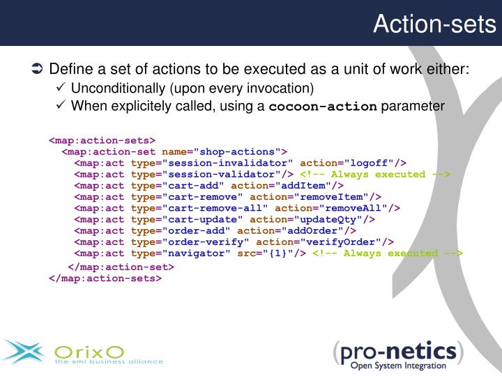 Action-sets