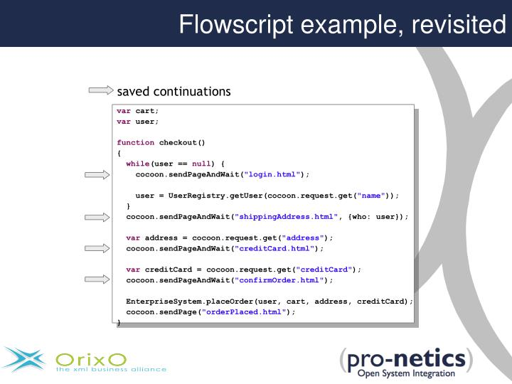 Flowscript example, revisited